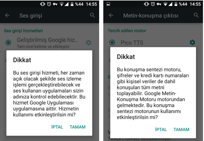 Android-dinleme